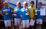 Erfolgreiche Jungs beim Bofrost-Kleinfeldturnier in Altshausen