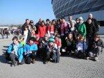 TCMK-Reisegruppe vor der Allianzarena