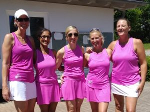 Die Damen 40 feiern bereits den 3. Saisonsieg