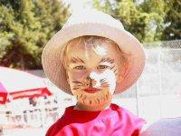 Rahmenprogramm: u.a. Kinderschminken