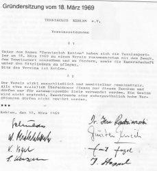 Protokoll der Gründersitzung