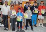 Die Finalisten des TCMK-Jugendcups 2015