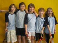 Team Wilhelm-Schussen-Grundschule 2011: F. Dunger, J. Hutzel, N. Stofner, M. Reinhart und S. Nanz