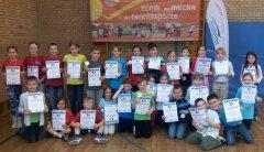 Die Erstplatzierten des GenoBank-Grundschulen-Cup in Meckenbeuren