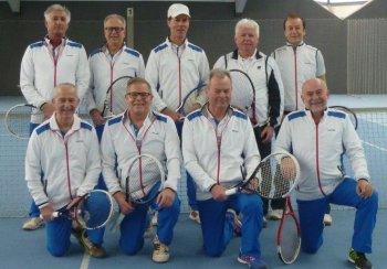 h.l.: P. Gaissmaier, H. Leinberger, F. Buser, S. Toninger, J. Wagner - v.l.: H. Breit, R. Schmid (MF), M. Locher, D. Schmid
