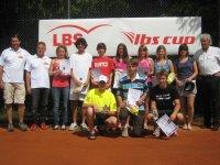 Die Erstplatzierten der AK U16 und U18 bei den BZM Jugend 2009