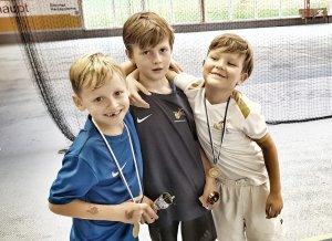 Alex, Niklas und Leon in Schwendi