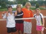 3. Platz für Horacio Vercher-Gieseler, Jan Lindner, Felix Dunger und Samia Nanz