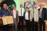 Die geehrten Vorstandsmitglieder beim TCMK