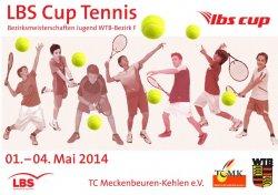 Turnierplakat der Bezirksmeisterschaften 2014