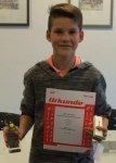 Bezirksmeister U13: Max Reinhart