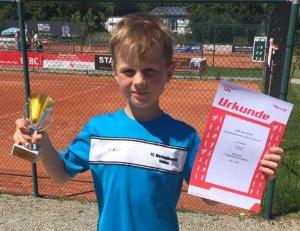 Vizebezirksmeister U9: Niklas Raff