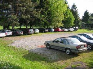 Unsere Anlage bietet auch genügend Parkplätze